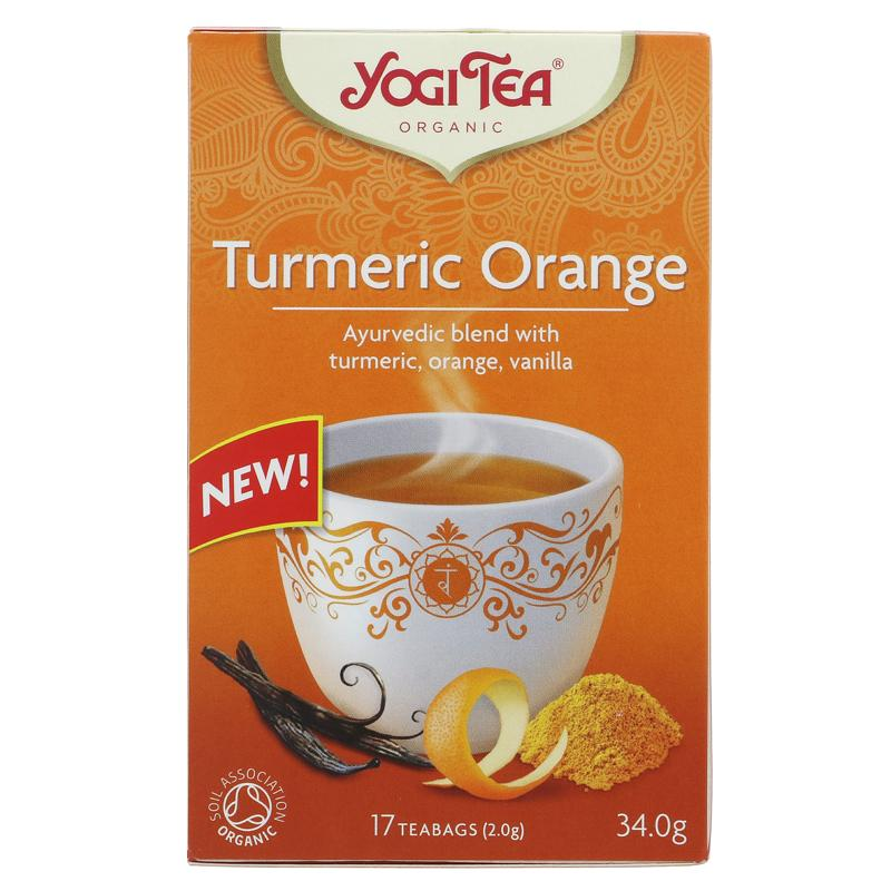 Yogi Tea Turmeric Orange - 17 bags
