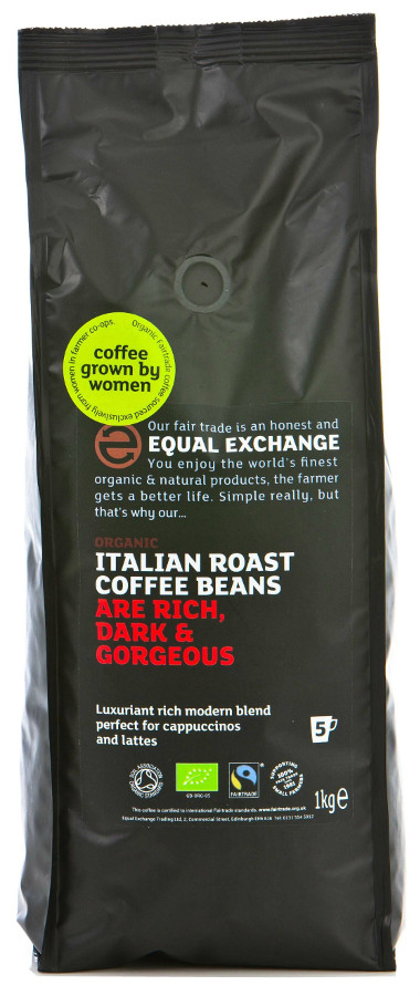 Equal Exchange ESPRESSO COFFEE BEANS 1 kg