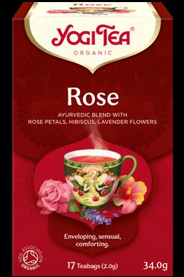 Yogi Tea Rose - organic - 17 bags