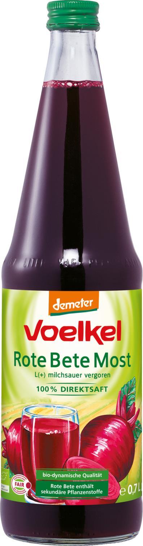 Voelkel Rødbetjuice. 0.7 l melkesyregjæret
