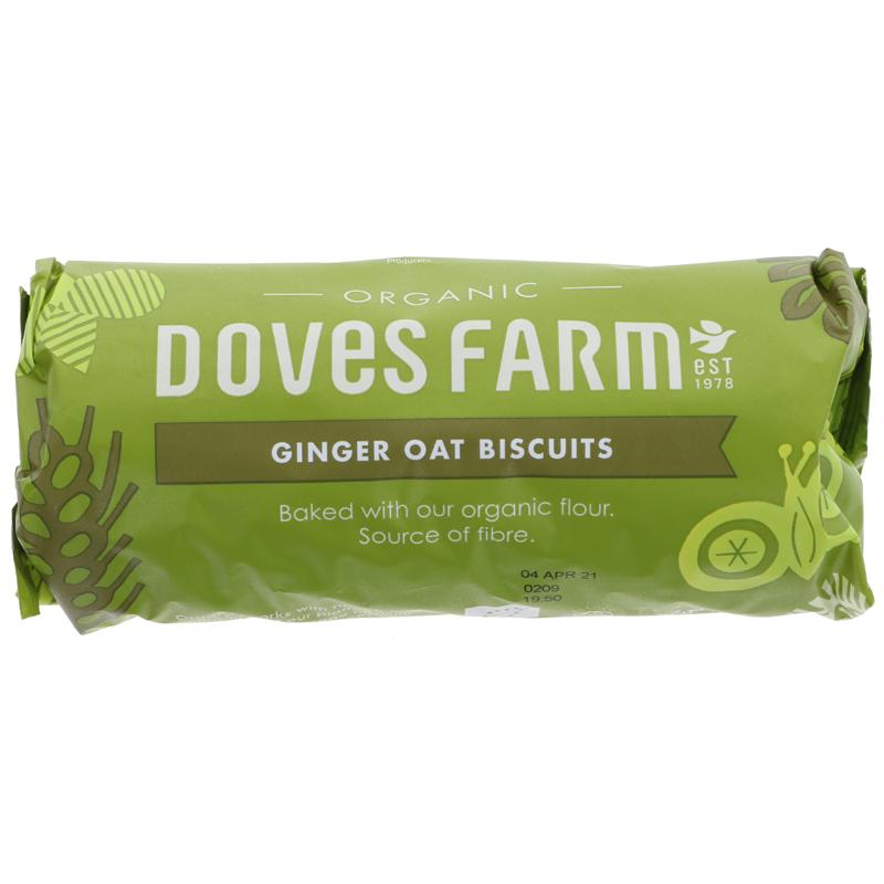 Doves Farm Ginger oat biscuits 200g