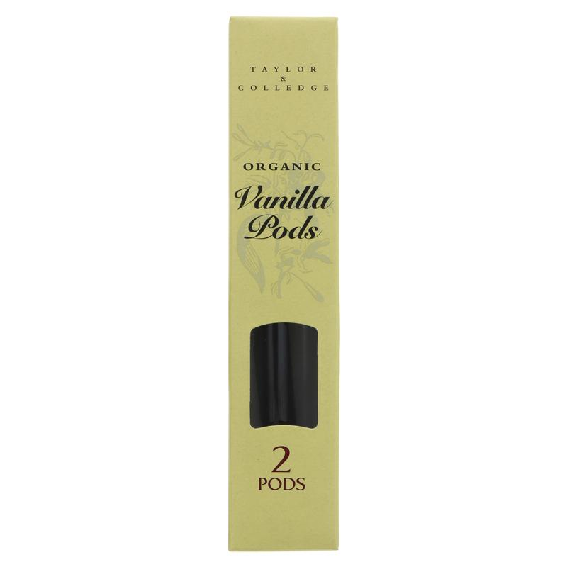 Taylor & Colledge Vanilla Pods - 4g
