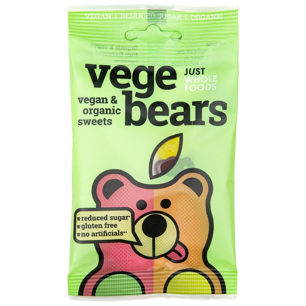 Vegebears Fruit Jellies - 100g