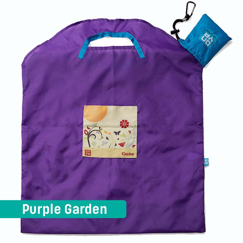 Onya Handlenett Stort Purple Garden