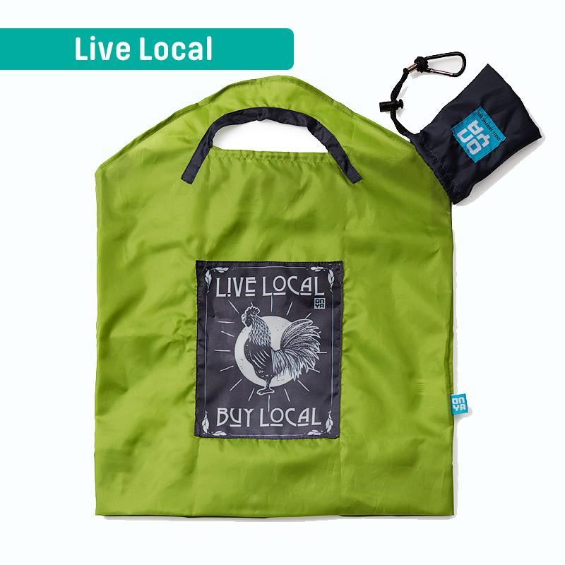 Onya Original - Shopping Bag Small Live Local