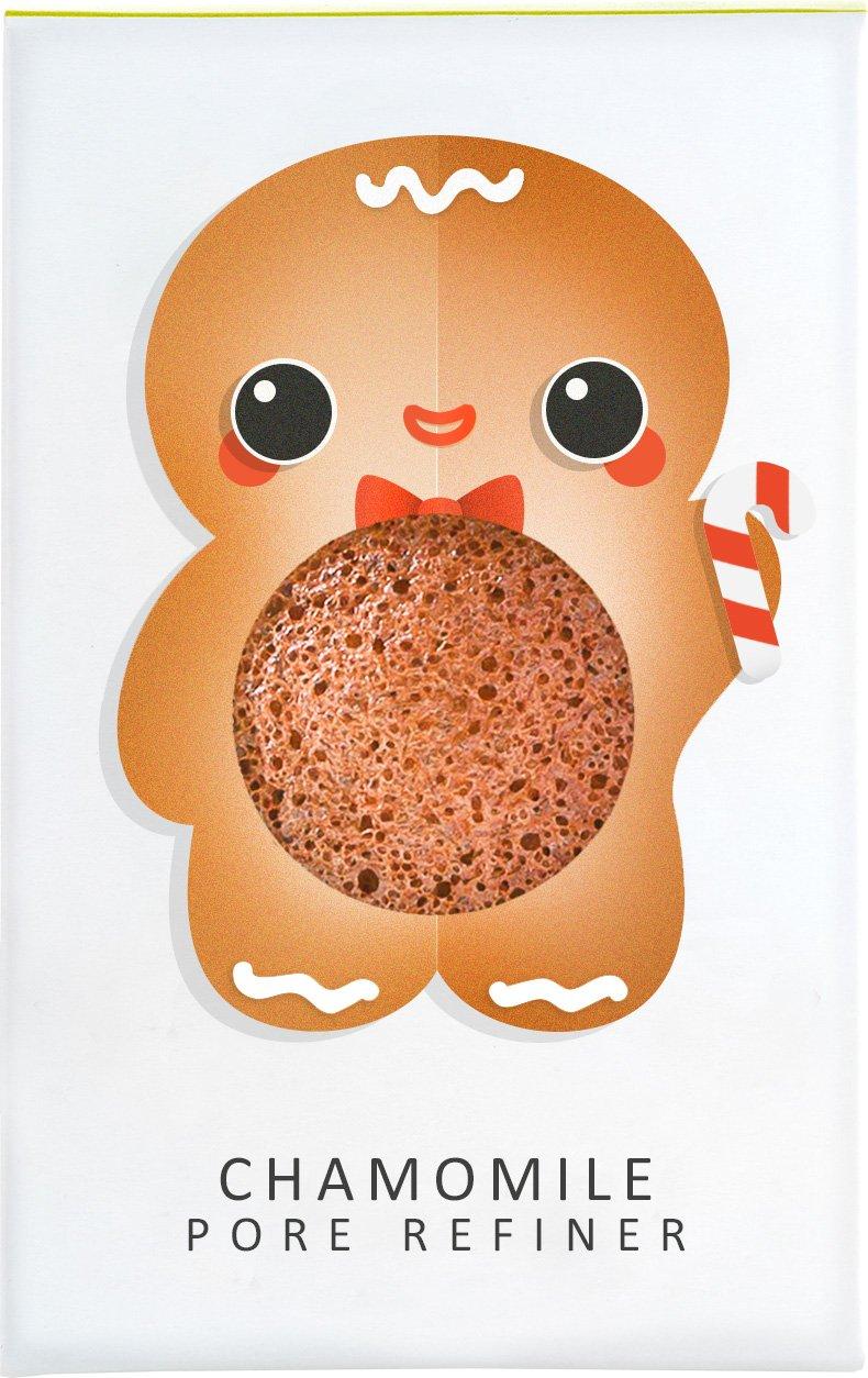 The Konjac Sponge Company Sponge w/Chamomile Gingerbread