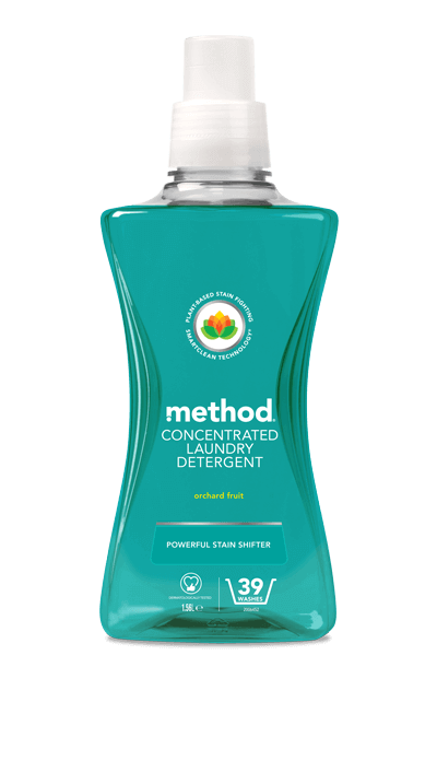 Method Laundry Liquid Orchard Fruit - Concentrated - 1.56l
