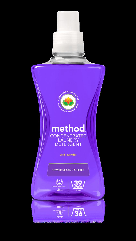 Method Laundry Liquid Wild Lavender - Concentrated - 1.56l