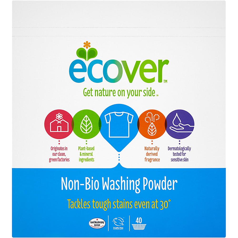 Ecover Washing Powder - Non Bio - 3kg
