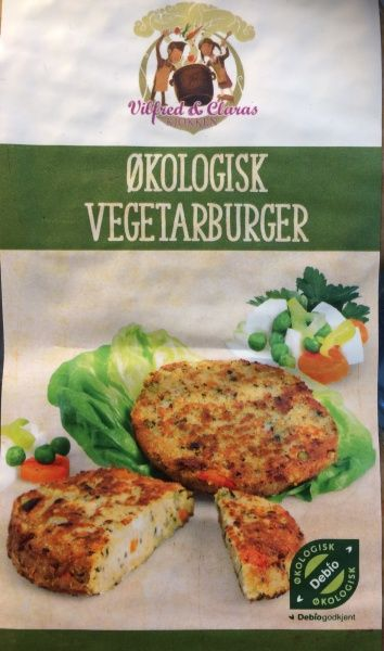 Vilfred & Clara vegetarburger 200g