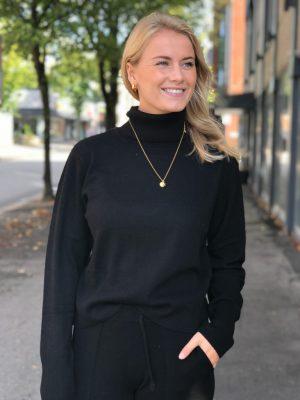 Camilla Pihl Milano genser Black