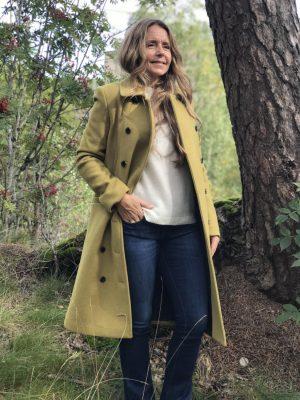 Selected Femme Winnie Kåpe Oliven