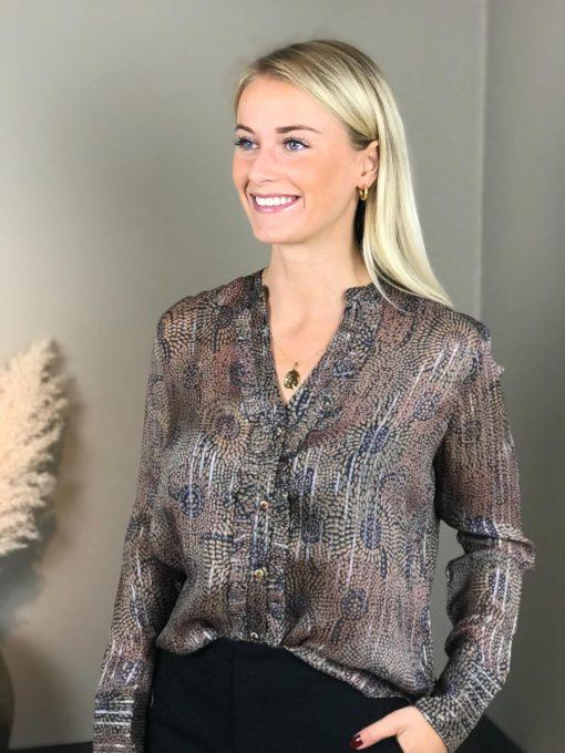 Mos Mosh Damia Peacock bluse