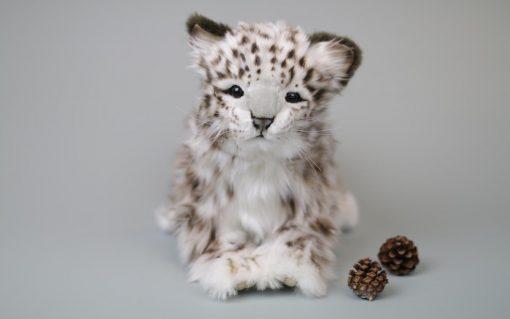 Snøleopard 34 cm L