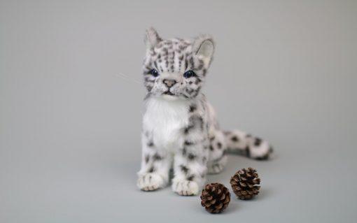 Snøleopard Baby 19 cm H