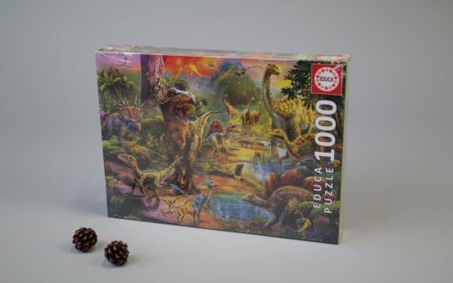 1000 Land of dinosaurs