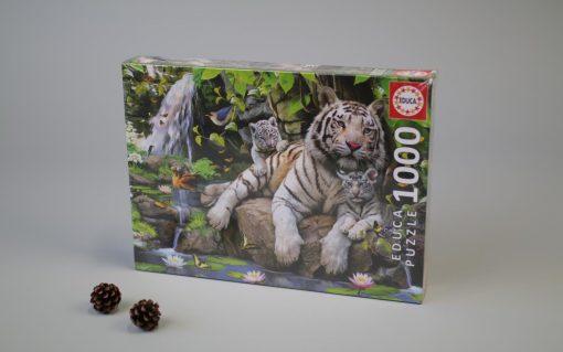 1000 Bengal white tigres