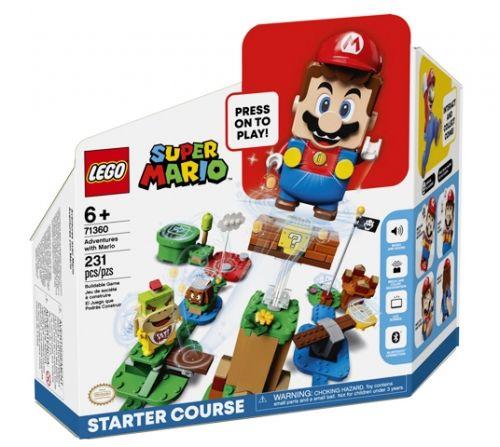 Startbanen På eventyr med Mario