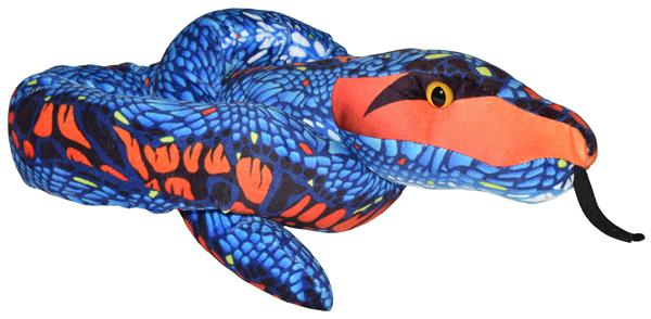 Wild Republic Snakesss Blue And Orange 137 cm