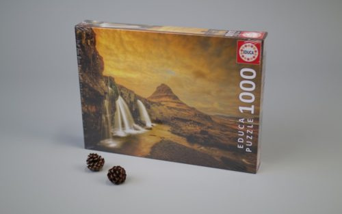 1000 Kirkjufellsfoss Waterfall, Iceland
