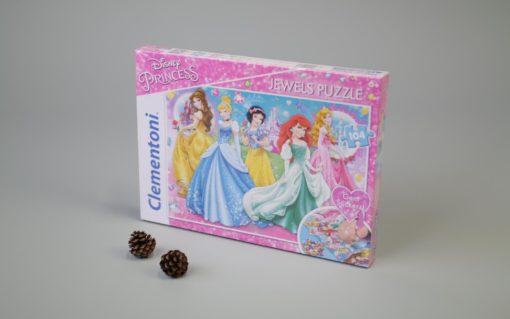 100 pcs. Jewels Puzzle Kids SuperColors PRINCESS