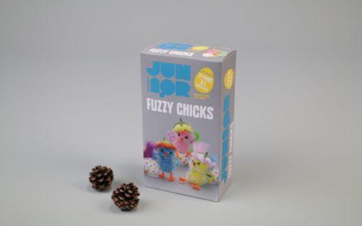 DIY KIT FUZZY CHICKS 3 STK