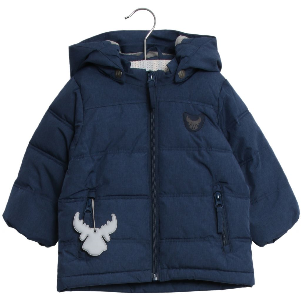 Wheat Down Jacket Noel Navy 74 92 Flortex Klær og Sport AS