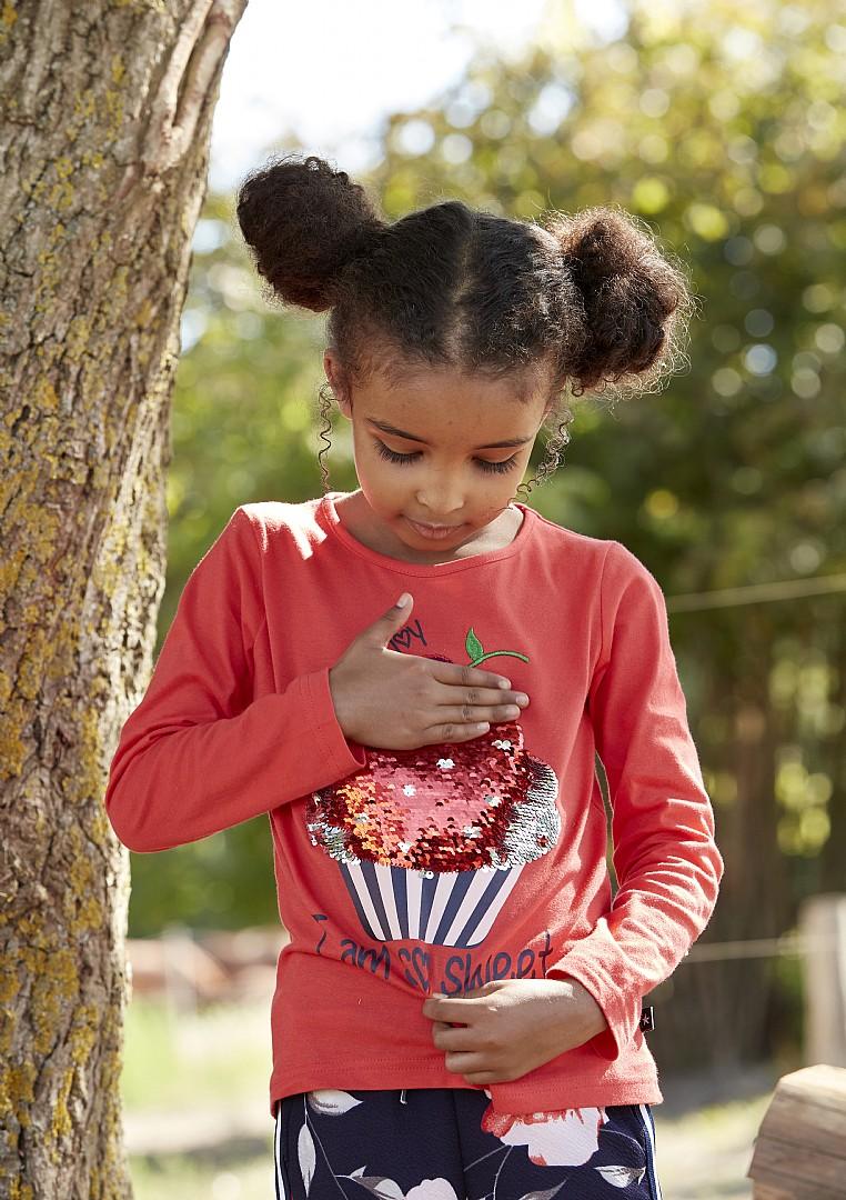 ae77ff1a Kids-Up Cupkake genser med paljetter – Flortex Klær og Sport AS