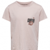 Kids Only Abby T-shirt Hvit og Rosa