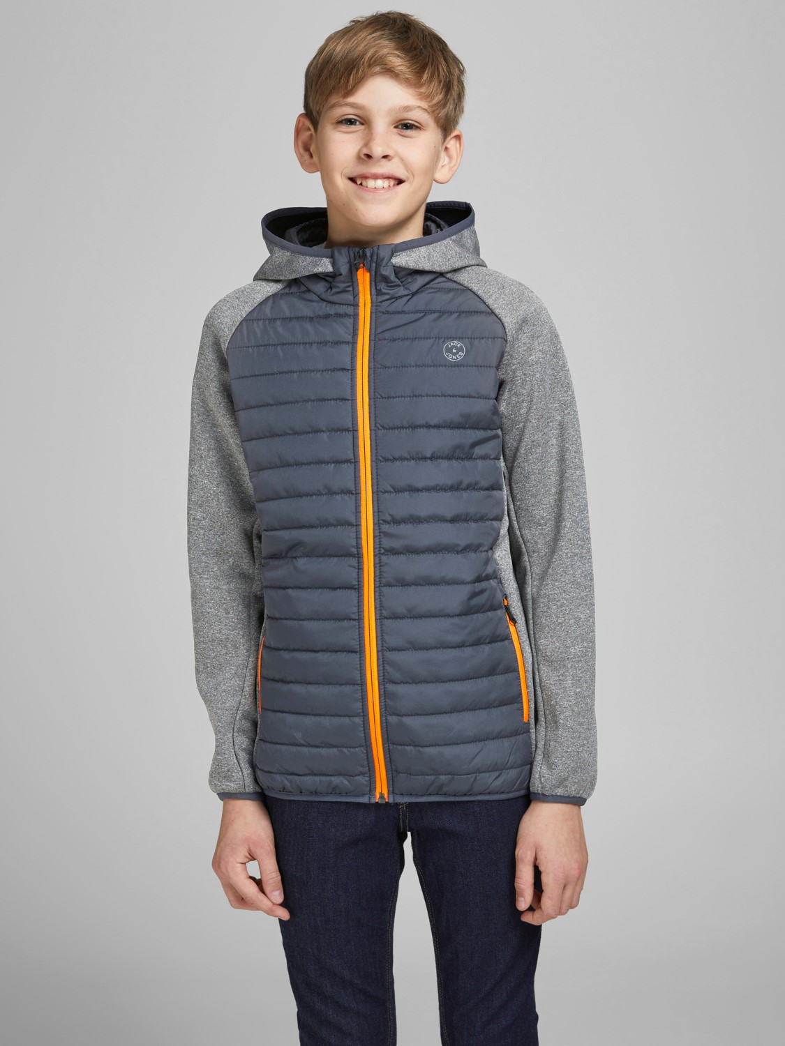 Jack&Jones Jr Multi  Quiltet Jacket