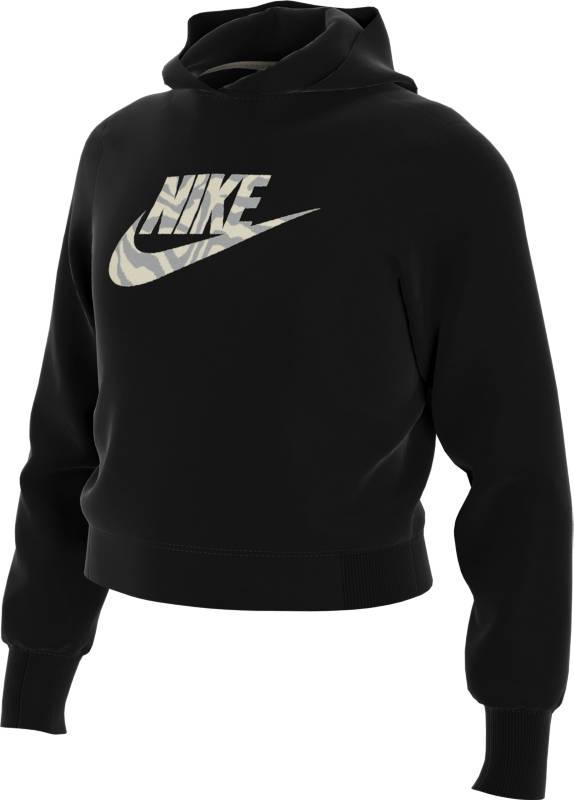 Nike Girls Crop Hoodie Fill