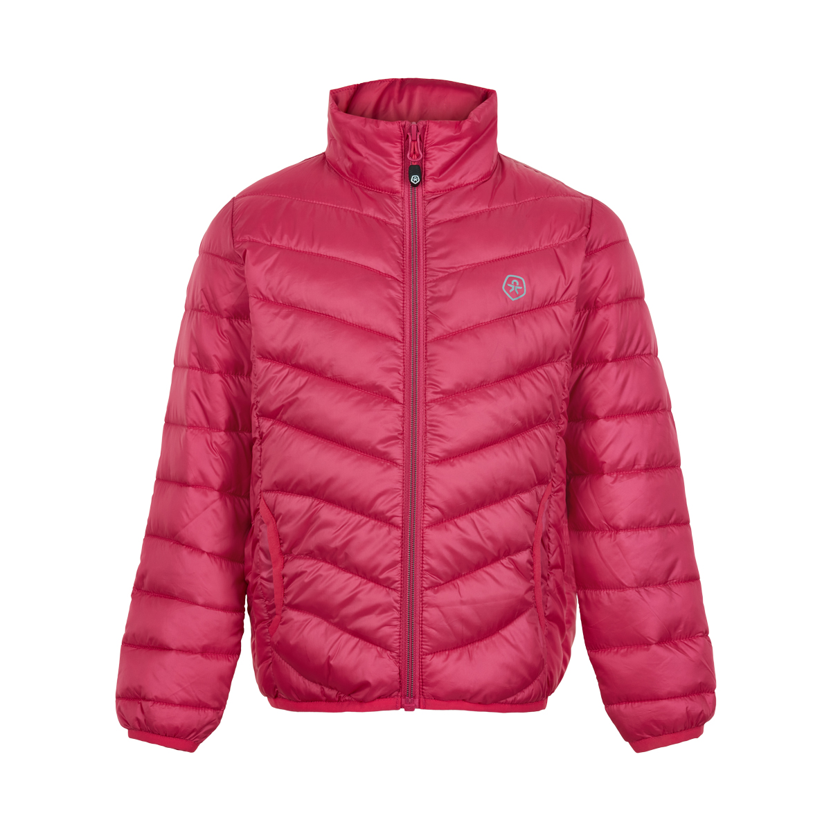 Color Kids Jacket padded packable Rosa, Blå , Grønn