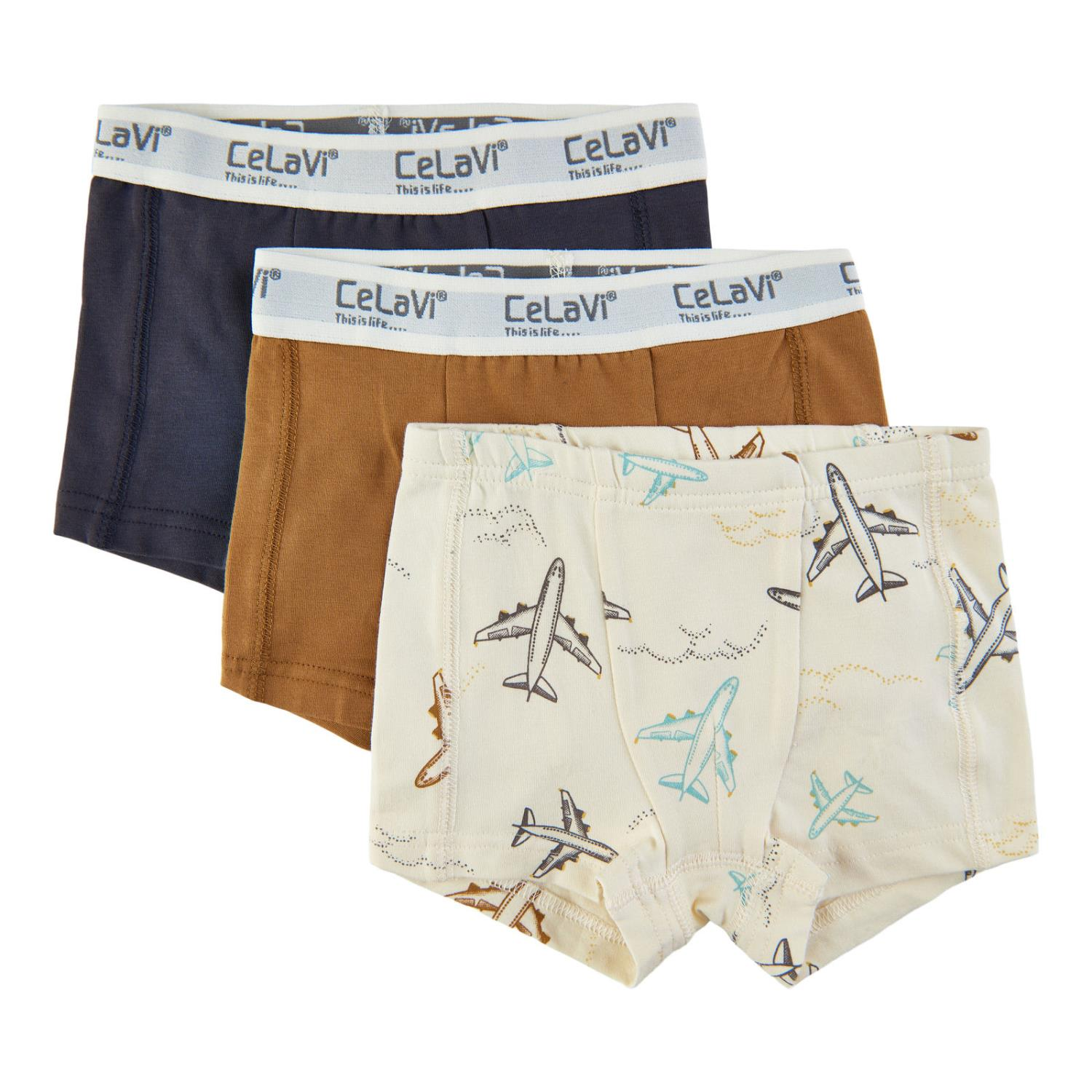 CeLaVi Boxers 3-pack Fly