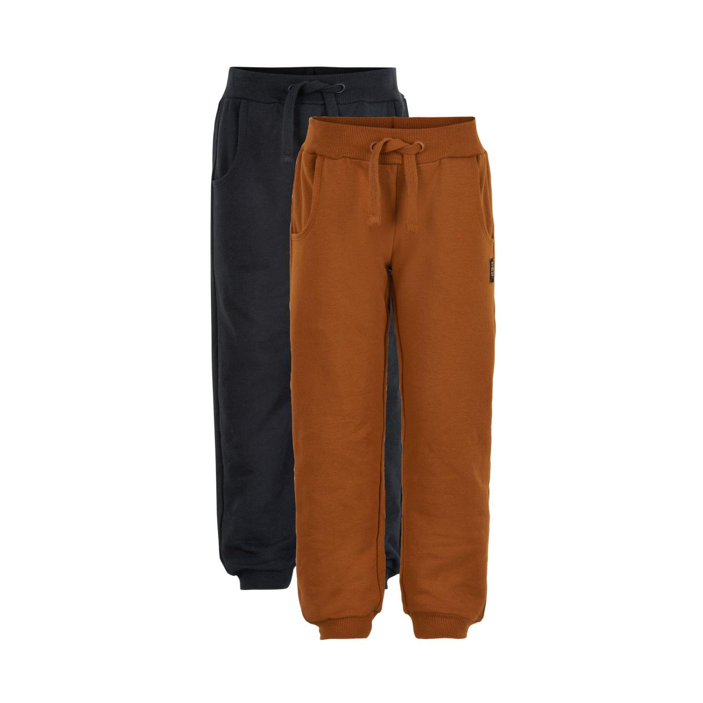 MinyMo Pants Sweat 2-Pack GOTS Certified