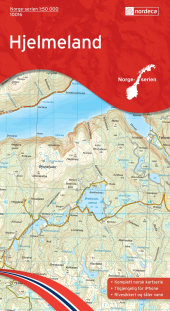 Hjelmeland 1:50 000