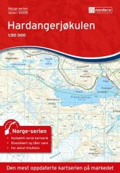 Hardangerjøkulen 1:50000