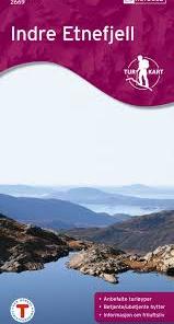Indre Etnefjell Turkart 1:50 000