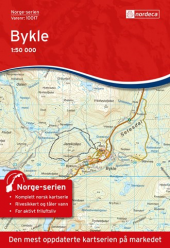 Nordeca  Bykle 1:50 000