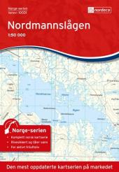 Nordmannslågen 1:50 000