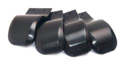 Fiberglass/Carbonfibre Skvettlapp 4 stk