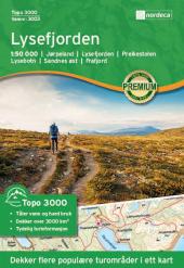 Lysefjorden Topo 1:50000