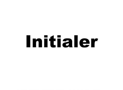 Initialer
