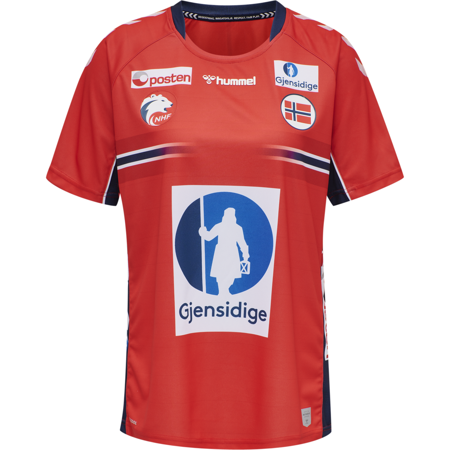 Hummel  NHF 20 WOMANS HOME KIDS JERSEY SS