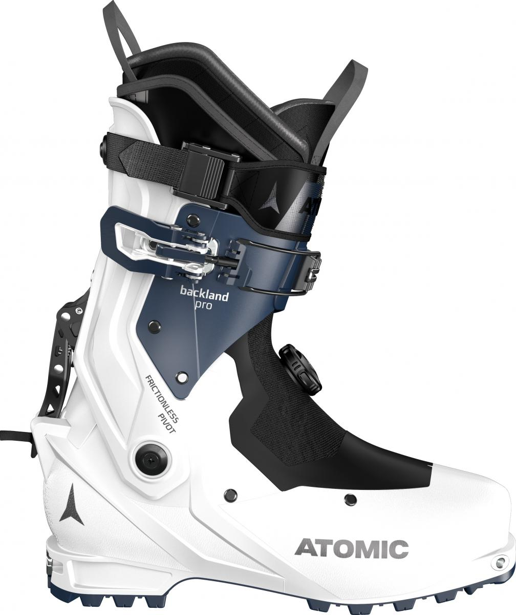 Atomic  BACKLAND PRO W White/Dark Blue