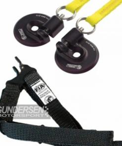 Simpson Quick release m/feste-remmer kompl kit