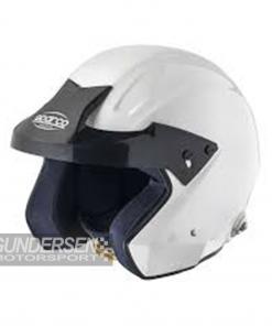 Sparco hjelm wtx-j-3  snell2010 Hvit