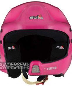 Stilo WRC Des hjelm Rally Rosa