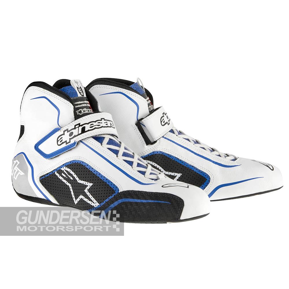 Alpinestars fia sko Tech 1-T Hvit/Blå