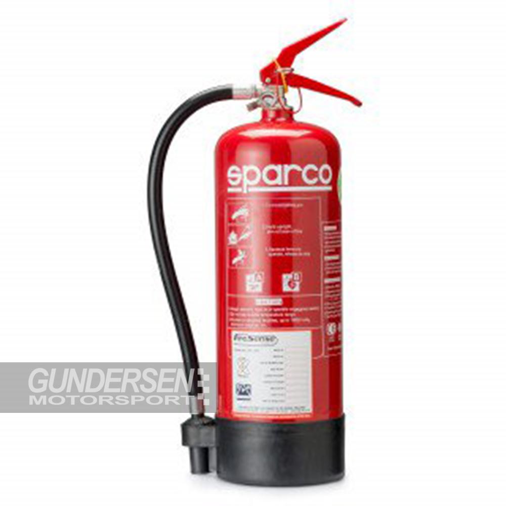 Sparco Brannslukker 6kg