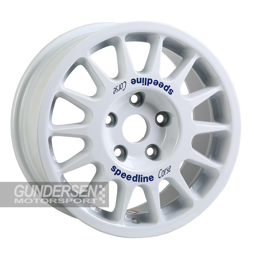 Speedline 7x15 5x135 ET54 R5 Fiesta white